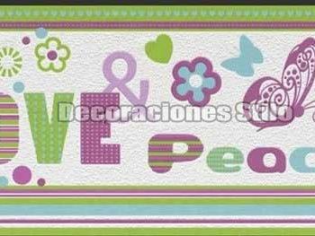 Papel-Pintado-Cenefa-Paz-Love-Letras-WallPaper-Kids-&-Teens-2016-Ref.C-478518