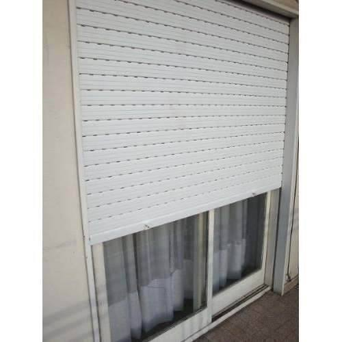 Persiana pvc pano super 50 blanco decoraciones stilo for Persianas de plastico enrollables
