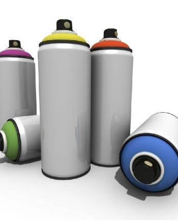Pintura en Sprays