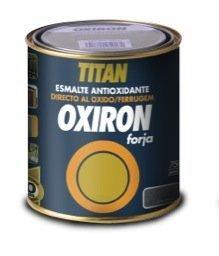 Esmalte Antioxidante OXIRON FORJA Negro 750 ml Brillante