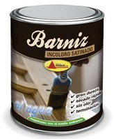 Barniz AL AGUA Satinado 375 ml