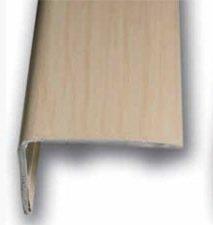 Cantonera Mamperlan peldaño aluminio Imitación madera arce 40 ADHESIVA 3 m