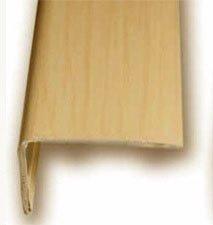 Cantonera Mamperlan peldaño aluminio Imitación madera haya 40 ADHESIVA 3 m