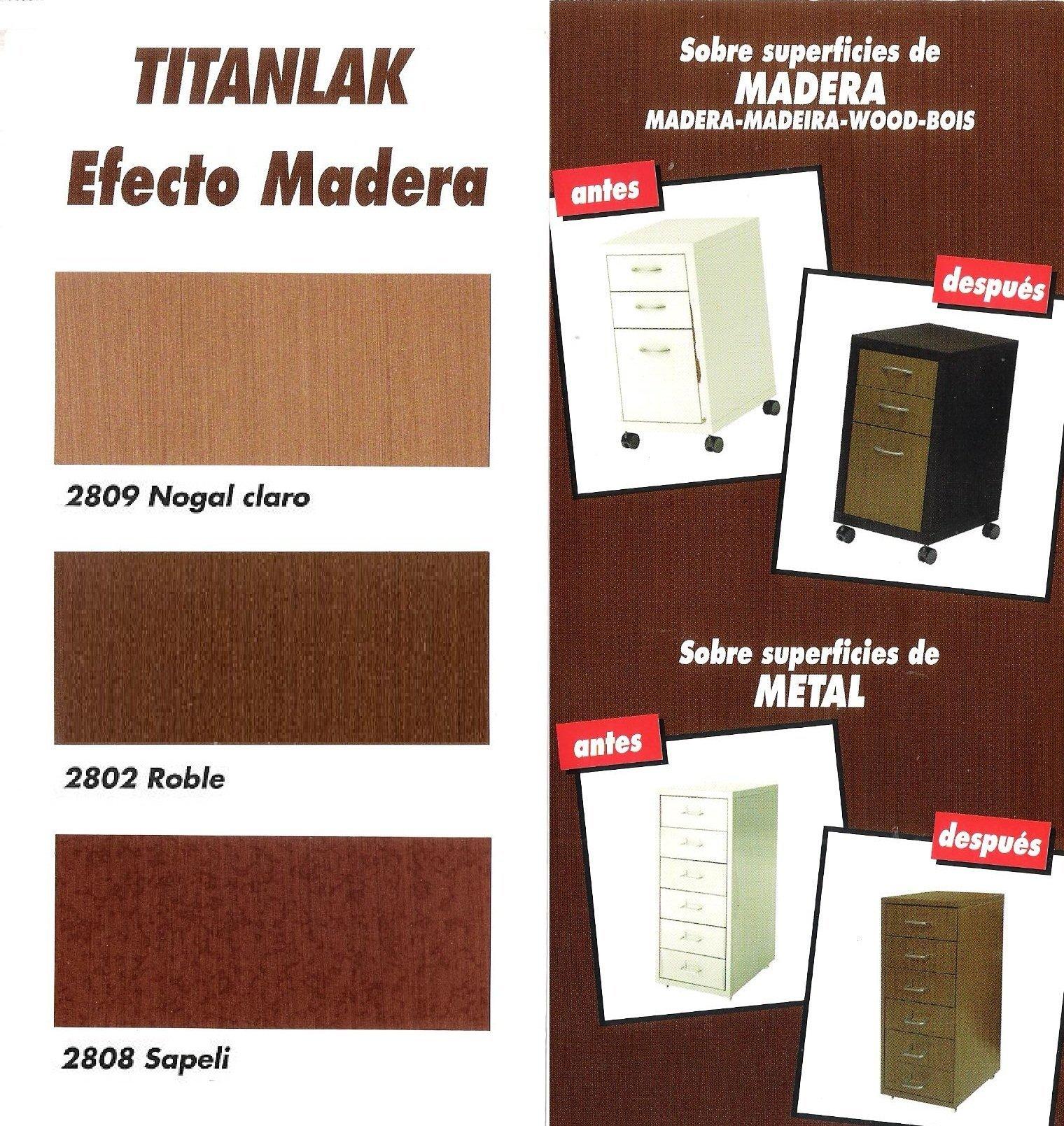 Esmalte efecto madera titanlak sapely 375 ml - Pintura blanca para madera ...