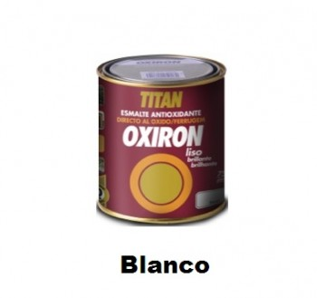 Esmalte Antioxidante OXIRON LISO Blanco 750 ml Brillante