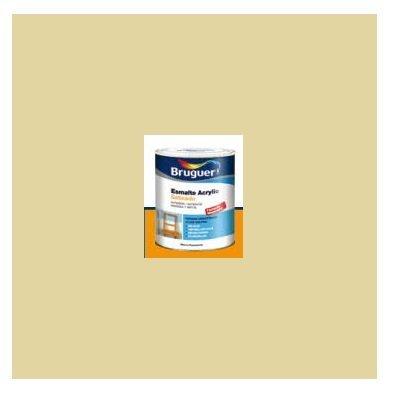 Esmalte Acrílico Satinado Amarillo Trigo  250 ml