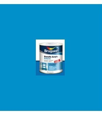 Esmalte Acrílico Brillante Azul Ancla  250 ml