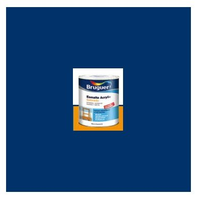 Esmalte Acrílico Satinado Azul Cantabrico  250 ml