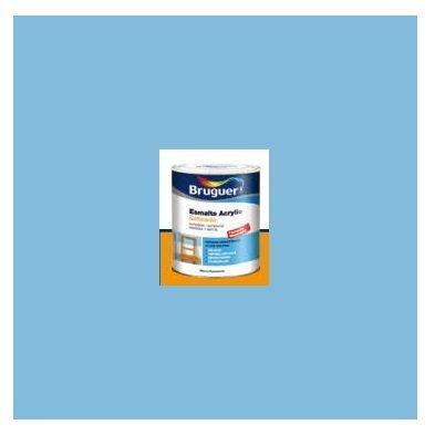 Esmalte Acrílico Satinado Azul Cielo  250 ml