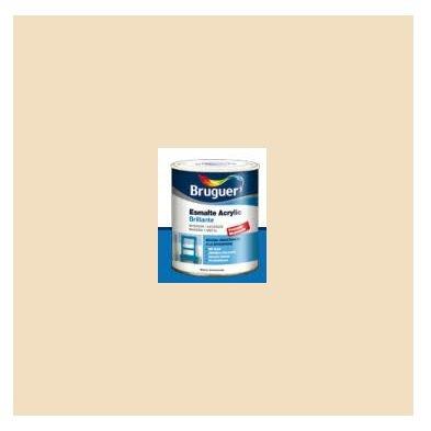Esmalte Acrílico Brillante Crema  250 ml