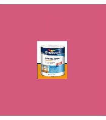 Esmalte Acrílico Satinado Fucsia  250 ml