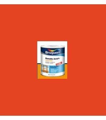 Esmalte Acrílico Satinado Naranja 250 ml