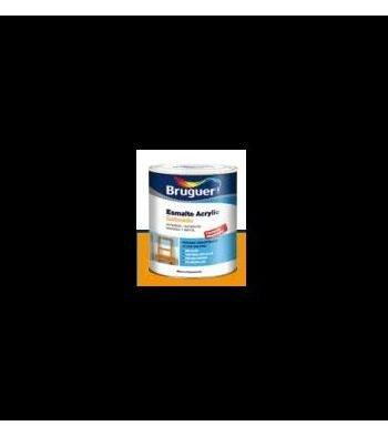Esmalte Acrílico Satinado Negro 250 ml