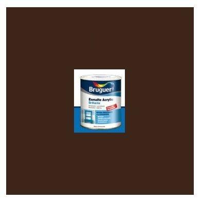 Esmalte Acrílico Brillante Pardo  250 ml