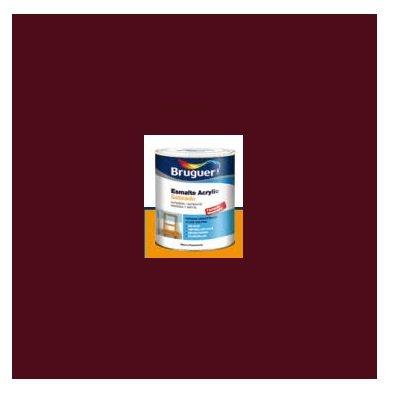 Esmalte Acrílico Satinado Rojo Grana 250 ml