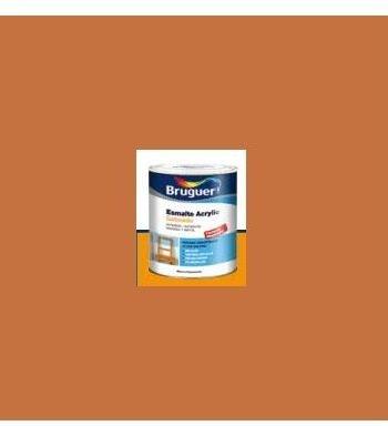 Esmalte Acrílico Satinado Teja 250 ml