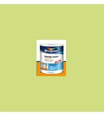 Esmalte Acrílico Satinado Verde Lima 250 ml