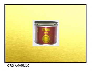 Esmalte Metalizado Oro Amarillo 50 ml