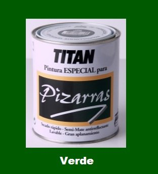 Esmalte Pizarras Verde 750 ml