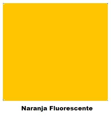 Spray Colores Naranja Fluorescente  400 ml