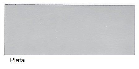 Esmalte Metalizado Plata 750 ml