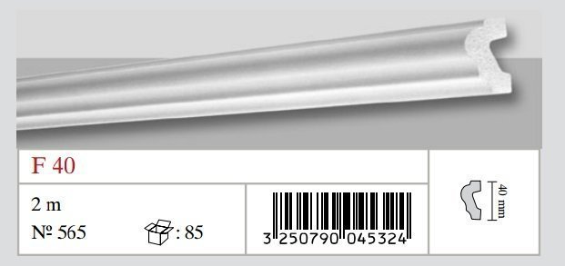 Moldura de Porexpan. F40