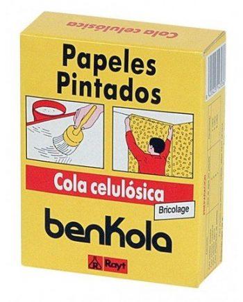 Cola Papeles Pintados Benkola  Caja de 125 gr.