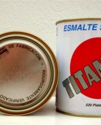 Esmalte Metalizado Plata 50 ml