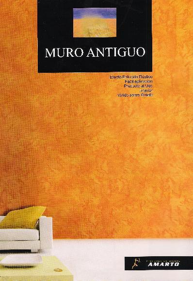 Pintura Decorativa Efecto Rústico MURO ANTIGUO 5 kg