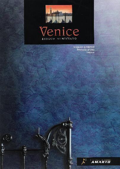 Pintura Decorativa Estuco Sintético VENICE  1 kg