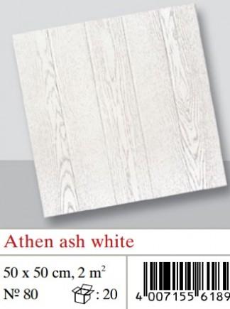 Plaquetas de techo Athen Ash White