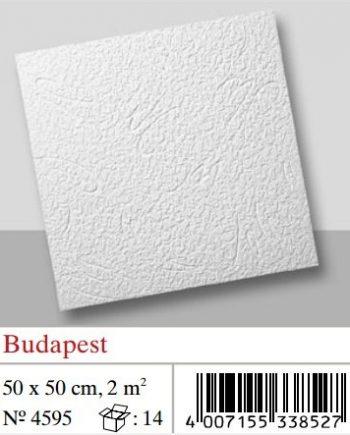 Plaquetas de techo Budapest