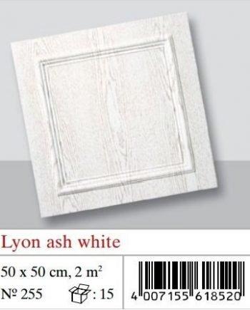 Plaquetas de techo Lyon Ash White