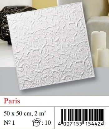 Plaquetas de techo Paris