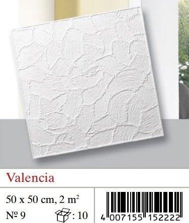 Plaquetas de techo Valencia