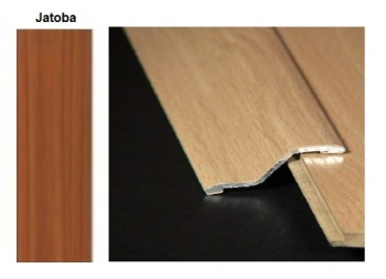 Pletina PVC con escalón imitación a madera Jatoba 0