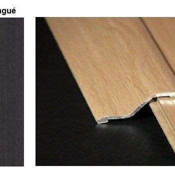 Pletina PVC con escalón imitación a madera Wengué 0