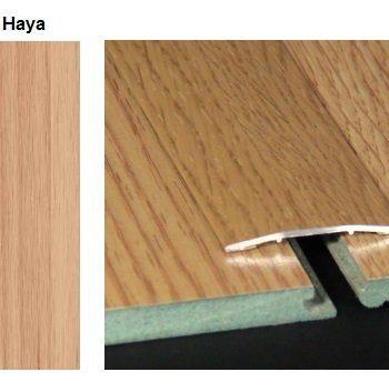 Pletina PVC plana imitación a madera Haya 0