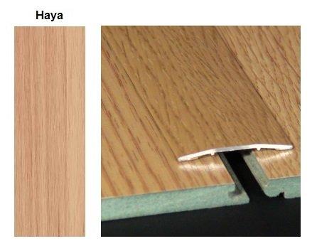 Pletina pvc plana imitaci n a madera haya 0 83 m - Suelo pvc imitacion madera ...