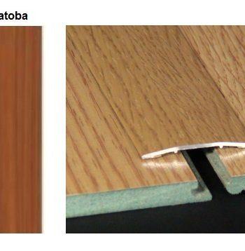 Pletina PVC plana imitación a madera Jatoba 0