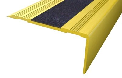 Cantonera peldaño dorada 60 Antideslizante 3 m
