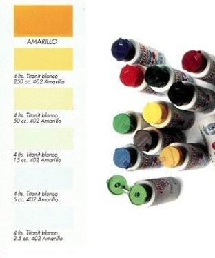 Tinte al Agua Amarillo 250 ml