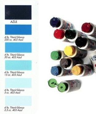 Tinte al Agua Azul  250 ml