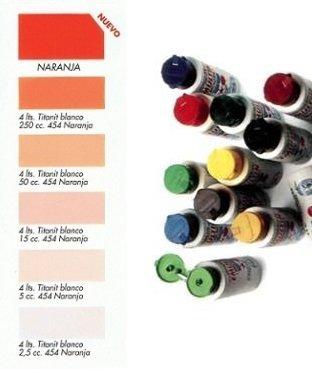 Tinte al Agua Naranja  250 ml