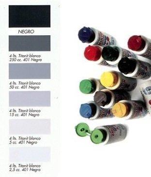 Tinte al Agua Negro  250 ml