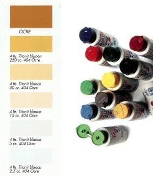Tinte al Agua Ocre  250 ml