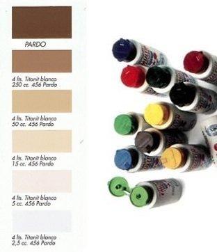 Tinte al Agua Marrón  250 ml