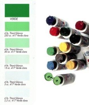 Tinte al Agua Verde  250 ml