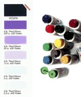 Tinte Universal Violeta  50 ml