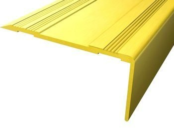 Cantonera peldaño dorada 60 2 m